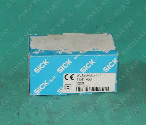 Sick, WL12G-3B2531, 1041456, Photoelectric Switch Sensor