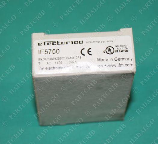 IFM, IFK3002UBPKG/SC/US-104-DPS, IF5750, Efector Inductive Sensor Switch for Welding Applications