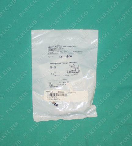 IFM, OGS200, 0GS200, OGS-OOKG/US100,  Efector Photoelectric Sensor