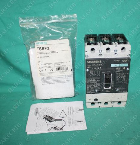 Siemens, NDX3B100, Circuit Breaker 100A 600V