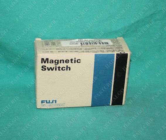 Fuji Electric, SW-0, SC13AAN-110TJ, TR-0N, Magnetic Switch Starter w/Overload Relay 0.64-0.96A 100V Coil