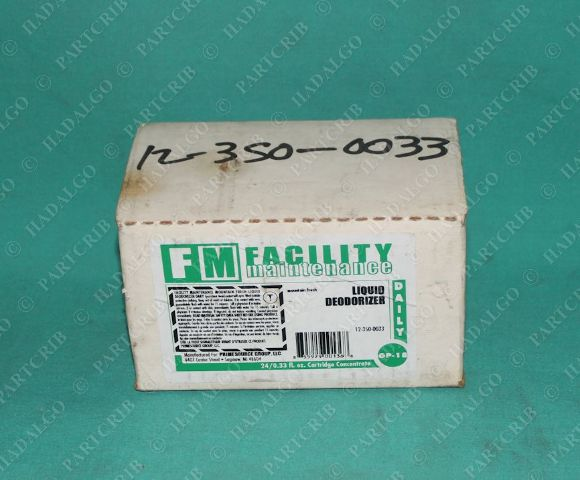 Facility Maintenance, 12-350-0033, Liquid Deodorizer Mountain Fresh op-18 Box of 10