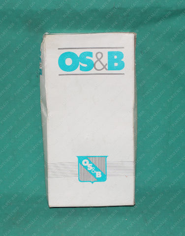 "OS&B, 110BRBLF, 1 1/4"" P-Trap/Siphon P Brass P Trap Sink Drain Tubular Wall Bend Rough Vanity"