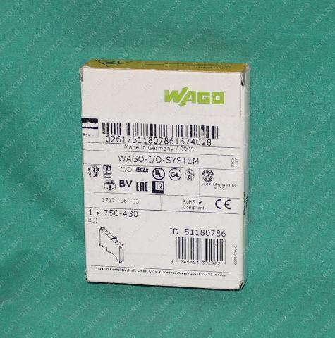 Wago, 51180786, 750-430, 750 430, Digital Input I/O Module