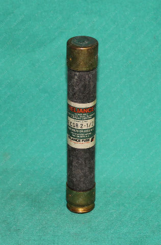 Reliance, ECSR 2-1/2, 2.5a 2.5 Amp Time Delay Fuse