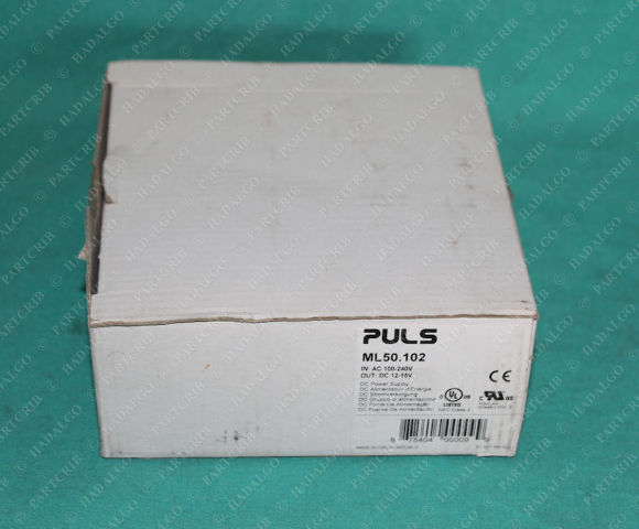 Puls, ML50.102, DC Power Supply IN 100-240VAC OUT: 12-15VDC