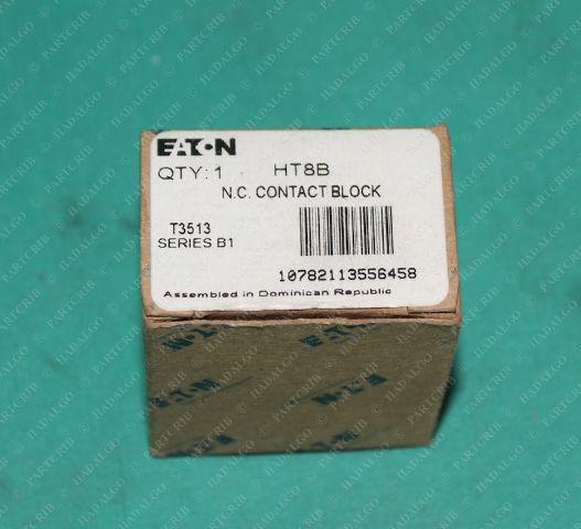 Eaton, HT8B, T3513,  N.C. Contact Block Push Button Contactor
