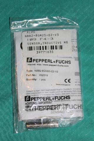 Pepperl + Fuchs, NBB2-8GM25-E2-V3, 052019, Inductive Sensor Proximity Switch