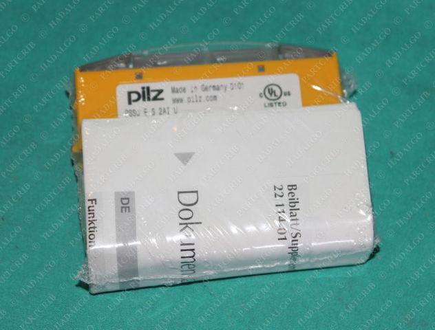 Pilz, PSSu E S 2AI U, 312440, I/O Module