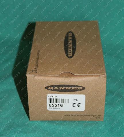 Banner, LT3BDQ, 65516, L-Gage Photoelectric Sensor Laser Distance Diffuse