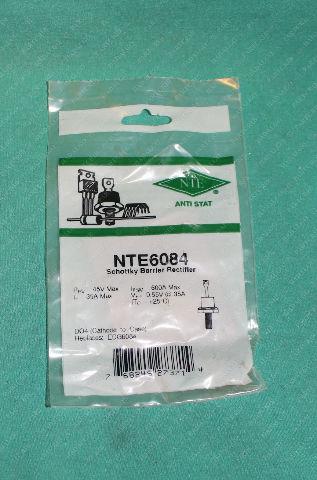 NTE, NTE6084, Schottky Barrier Rectifier