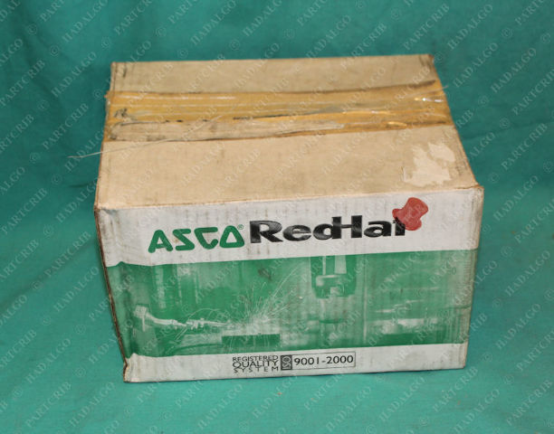 Asco, 8215B060, Red Hat Solenoid Valve 302352 1 1/4 1.25 Pipe Aluminum Body