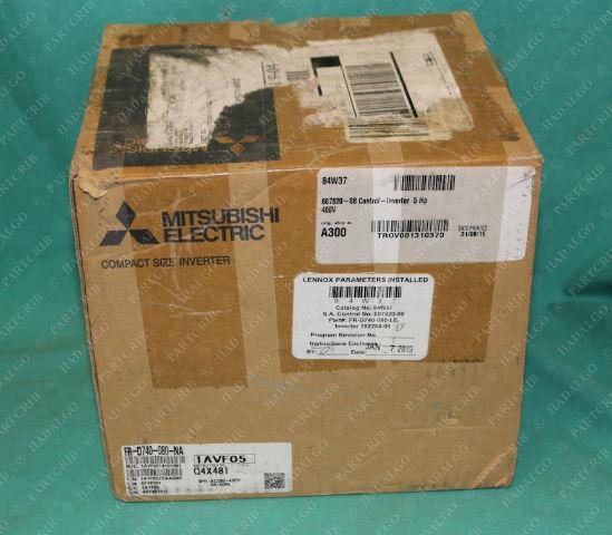 Mitsubishi, FR-D740-080-NA, Inverter Drive VFD Motor Variable Speed 3PH