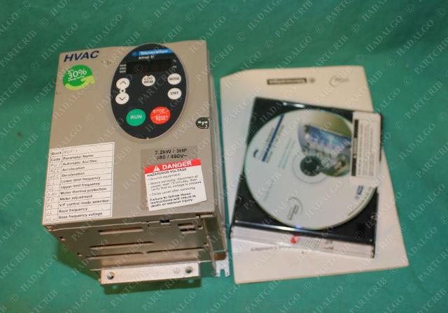 Telemecanique, ATV21HU22N4, Inverter Motor Drive VFD