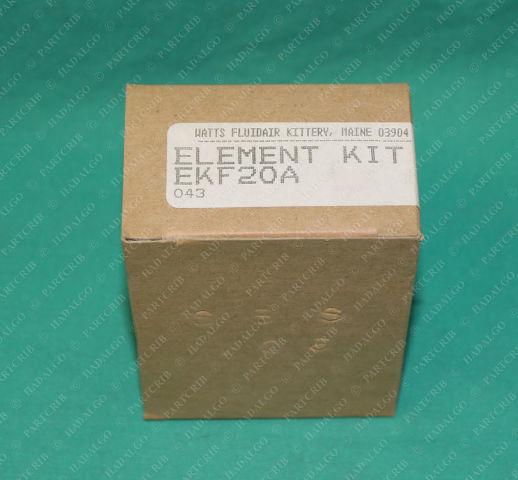 Parker, EKF20A,  Fluidair Watts Regulator Filter Element Kit SMC