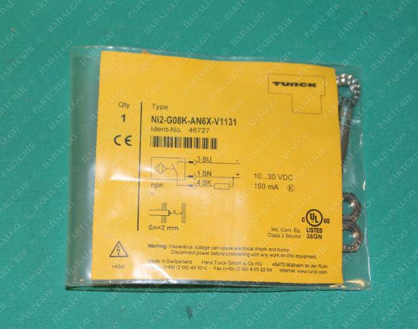 Turck, Ni2-G08K-AN6X-V1131, 46727, Proximity Sensor