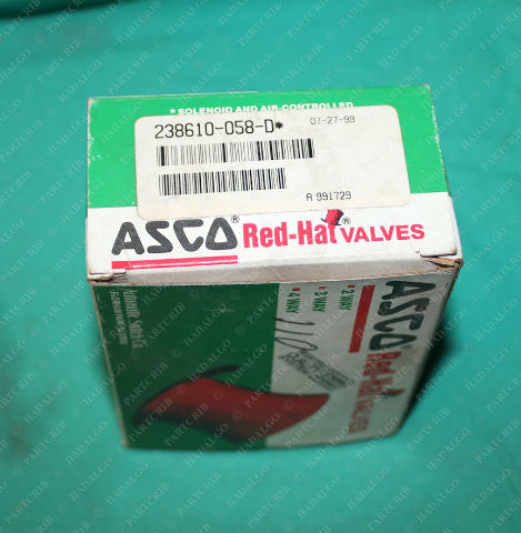 Asco, 238610-058-D, 120v Valve Solenoid Coil