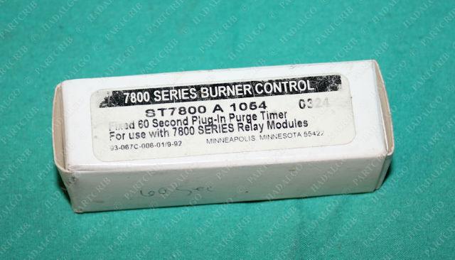 Honeywell, ST7800 A 1054, ST7800A1054 Plug In Purge Timer 60sec Card Burner