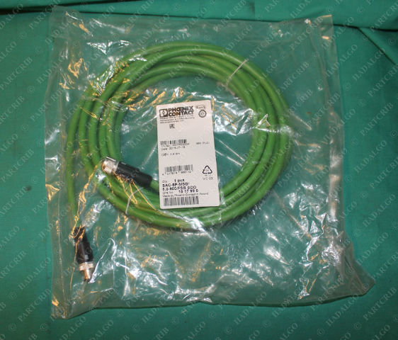 Phoenix Contact, SAC-5P-MSB/5.0-900/FSB SCO, 15 17 99 0, Cable Cordset Extension 5 Pin 5p Male Female