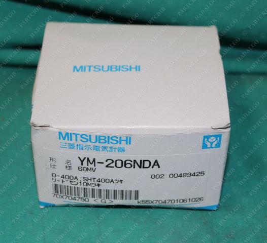 Mitsubishi, YM-206NDA, Gauge Meter 0-400A 400 Amps