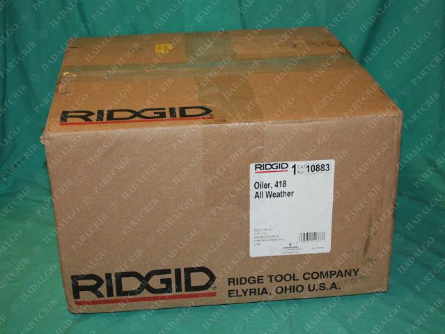 Ridgid, 10883, All Weather Oiler 418 Thread Lubricator Threader