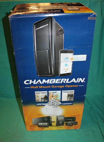Chamberlain, RJ020, Wall Mount Garage Opener (No Manual, No Cut Eye Wires)