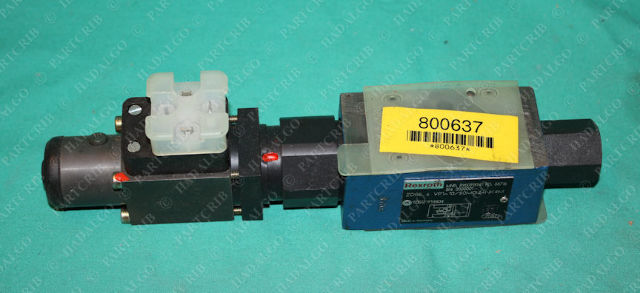 Rexroth, ZDRE 6 VP1-10/50MG24NK4M, R900915961, Pressure Reducing Valve