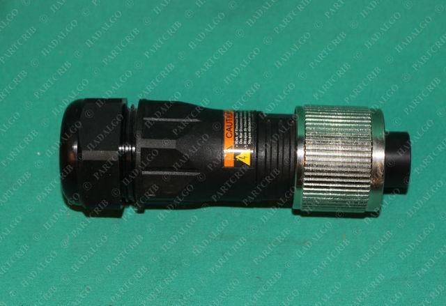 Turck, GKDM 40-0, U2-14827, M Series Plug Connector 4p 4 Pin Screw On