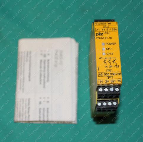 Pilz, PNOZ e1.1p 24VDC 2n/o, 774133, Safety Relay 24VDC