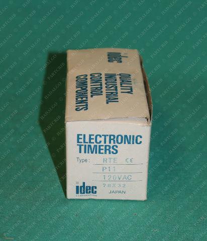 Idec, RTE-P11, Electronic Timer 120VAC