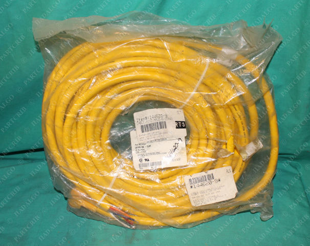 Turck, WYM 66-15M, U99-17339, Mini Cable Male Cordset 6/16AWG 6p Pin