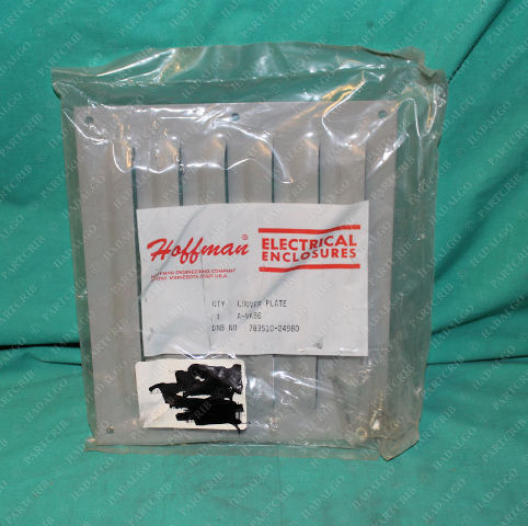 Hoffman, A-VK86, 783510-24980, Pentair Air Cabinet Louver Plate Cover