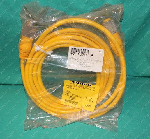 Turck, RSM RKM 6B6-5M, U2-00072, 701870-1,Minifast Cordset Cable Connector Female 5p 5 Pin