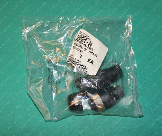 Brad Harrison, 1A5002-34, Mini Change Connector 5P Male 5 Pin Plug