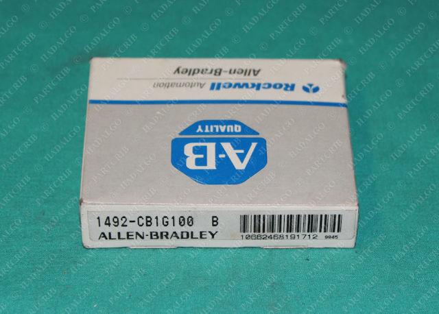 Allen Bradley, 1492-CB1G100, Circuit Breaker 10Amp 10a Single Pole 1P Miniature DIN rail