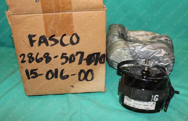 Fasco, 2868-507-070, 15-016-00, HVAC Motor 1400rpm 120V .65A