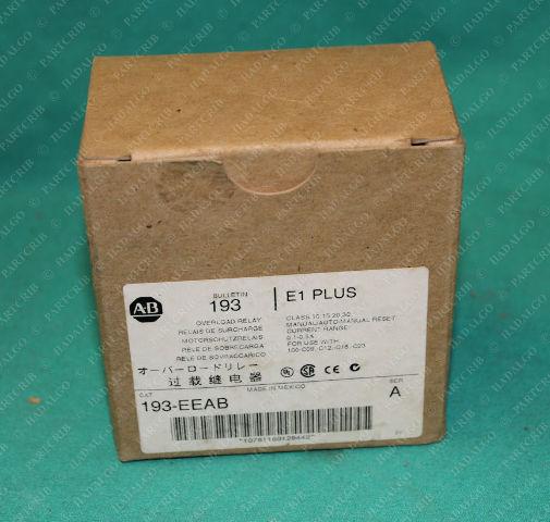 Allen Bradley, 193-EEAB, Overload Relay Motor Protector  0.1-0.5A