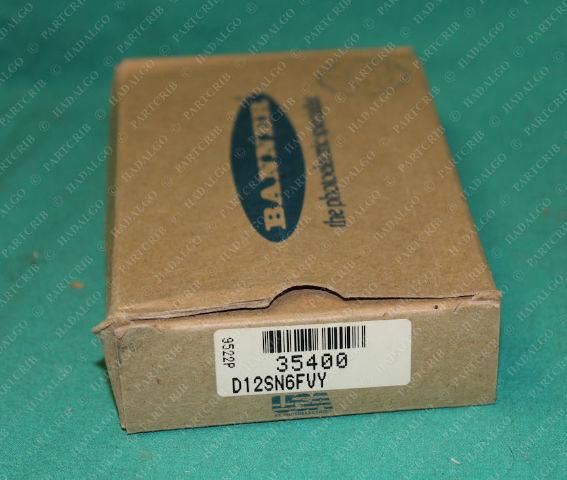 Banner, D12SN6FVY, 35400, Fiber Optic Sensor