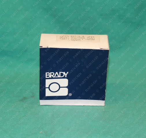 Brady, 32652, TB03-502-312, 131895-2, LS2000 Label Roll Size 0203 30ft/Roll Cloth Wire Wiring tags