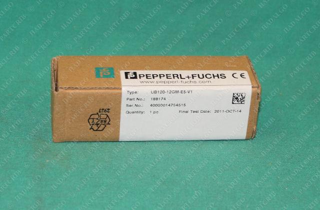 PepperL + Fuchs, UB120-12GM-E5-V1, 188174, Ultrasonic Sensor
