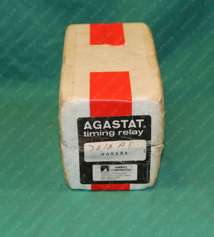 Agastat, 7012AF, Timing Relay Series 7000 1-10min