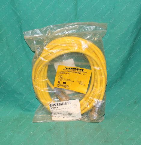 Turck, RSM RKM254-6M, U-03297, 707051-9, Minifast Cordset Cable Extension Cable Plug