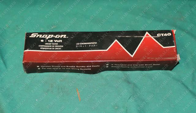 Snap-On, CT4G, Professional Circuit Tester 6-12V Test Light Voltage