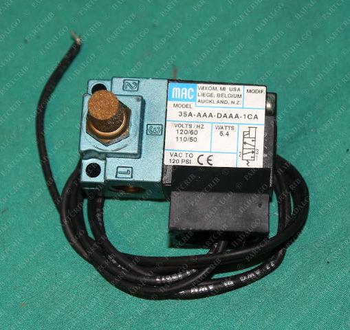 Mac, 35A-AAA-DAAA-1CA, Pneumatic Air Solenoid Valve