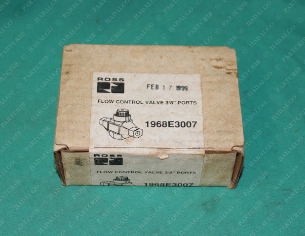 "Ross, 1968E3007, Flow Control Valve Adjustable Pneumatic 3/8"" Port"