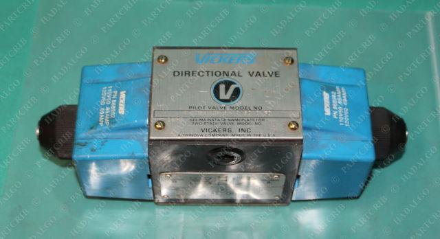 Vickers, DG4S4-016C-B-60, 879159, Hydraulic Pilot Valve Directional Eaton