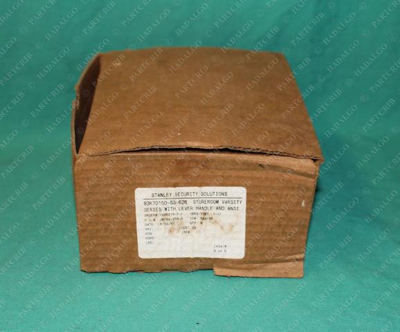 Stanley, 93K7D15D-S3-626, 9K37D, Storeroom Lever Handle Lock Best Commercial Door Lockset