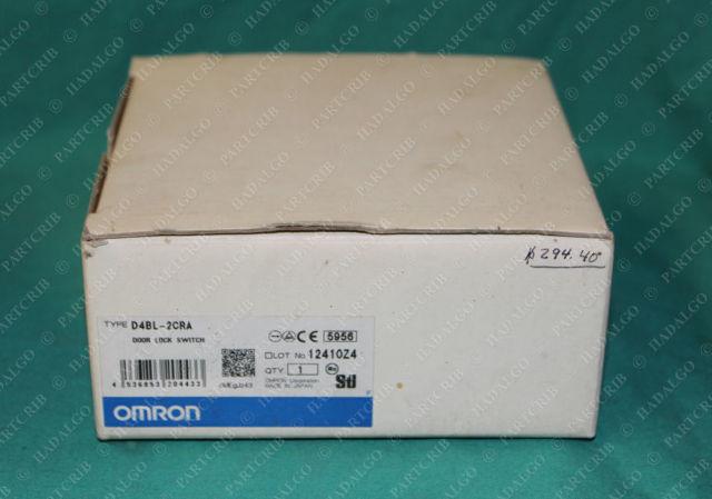 Omron, D4BL-2CRA, Safety Interlock Door Lock Switch MADE IN JAPAN