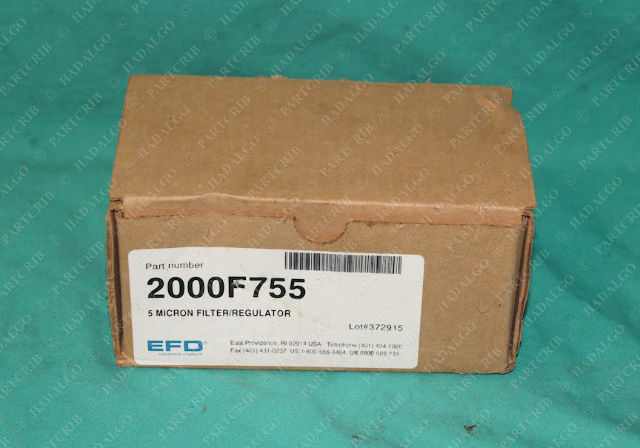 EFD,  2000F755, Nordson 5 Micron Filter Regulator