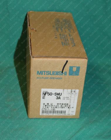 Mitsubishi, NF50-SWU, No-Fuse Breaker 3Amp 3A